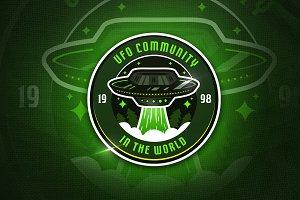 UFO Community - Mascot & Esport Logo