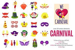 Carnival Flat Set