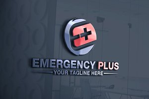 Emergency Plus | Letter E Logo