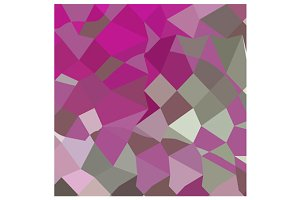 Dark Lavender Abstract Low Polygon B