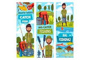 Fishing sport, fisherman, ammunition