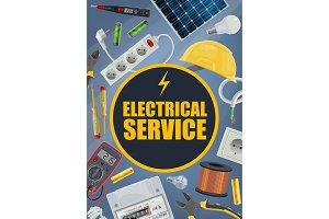 Electrical service, tools, equipment