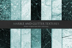 Marble and Glitter Textures