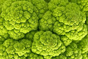 Green Cauliflower Macro