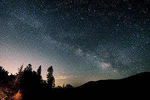 Milky Way at Mt. Evans