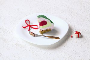 Christmas Mousse Cake