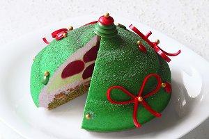 Christmas Mousse Cake