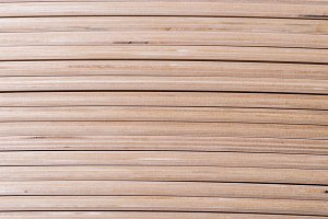 Set of wooden thin boads, texture
