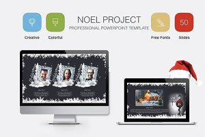 NOEL POWERPOINT TEMPLATE