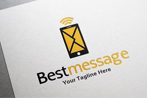 Best Message Logo Template