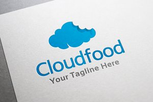 Cloud Food Logo Template