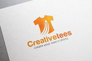 Creative T-shirt Logo