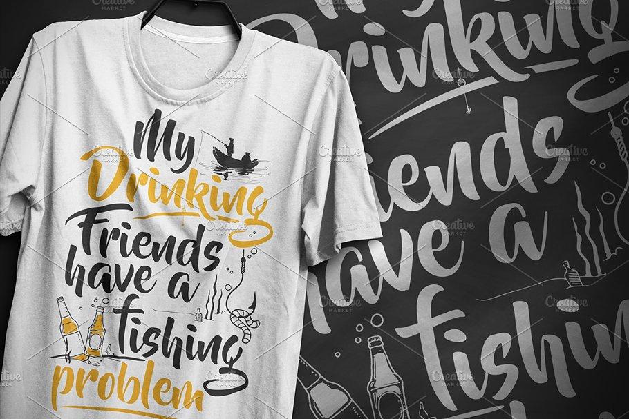 Fishing problem - Typography Design