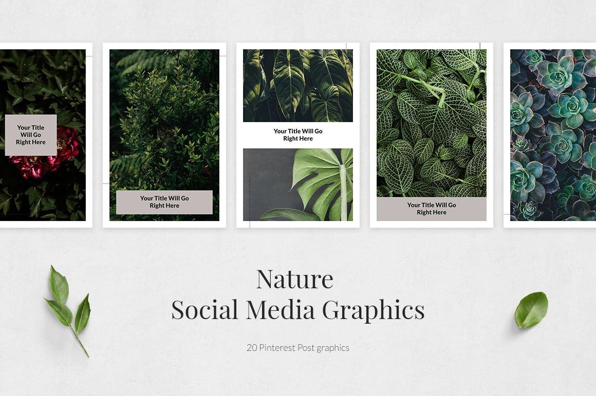 Nature Pinterest Posts