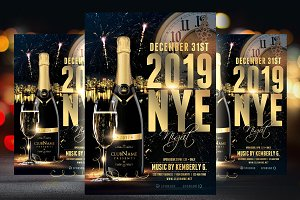 2019 NYE Flyer Template