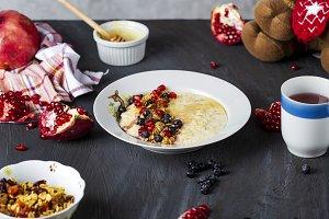 the children's breakfast oatmeal