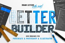 LetterBuilder - Draw letters easily! by  in Brushes