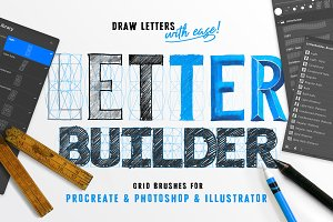 LetterBuilder - Draw letters easily!