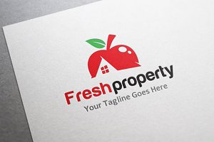 Fresh Property/Realestate/house Logo