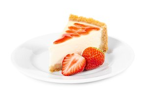 Piece of cheesecake