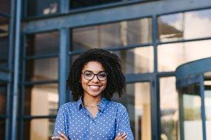 Successful female business