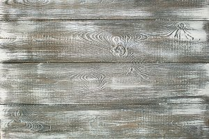 Gray old wooden whitish plank