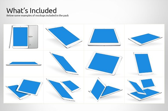 iPad Retina Mockups in Product Mockups - product preview 1