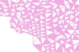 Geometric hand drawn pattern