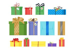 Christmas and New Year presents