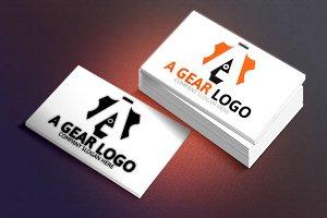 A Gear Logo