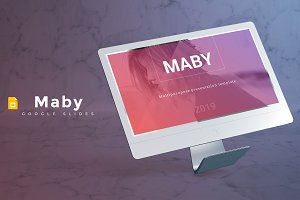 Maby - Google Slides Template