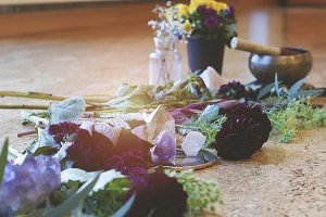 Crystals and Flowers