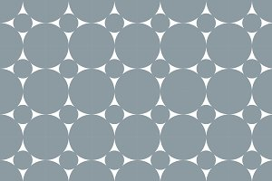 Circles geometric pattern background
