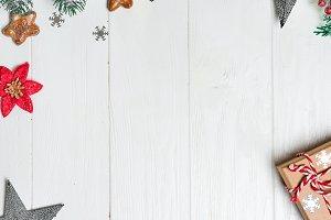Christmas congratulation background