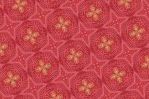 Intricate Geometric Stars Pattern