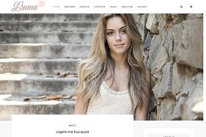 Luana - Responsive Wordpress Theme