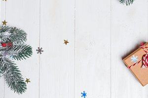 Christmas composition. Christmas