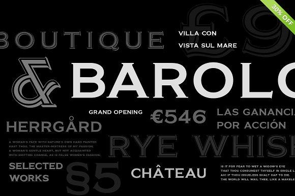 barracuda display display fonts creative market