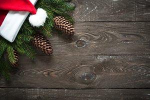 Christmas decorations fir tree