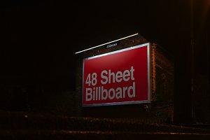48 Sheet Billboard Mock Up - Belfast