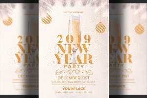 New Year Invitation - Flyer