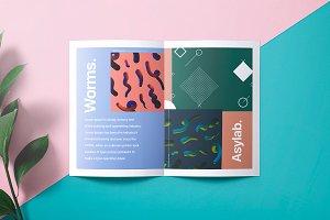 Brochure Mockup - PSD