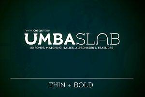 Umba Slab | Bold & Thin