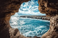 Ayia Napa Sea Caves by  in Nature