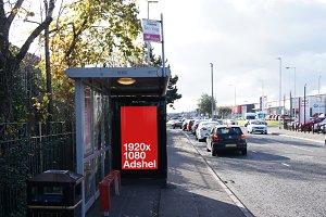Animated HD Adshel Mock Up - Belfast