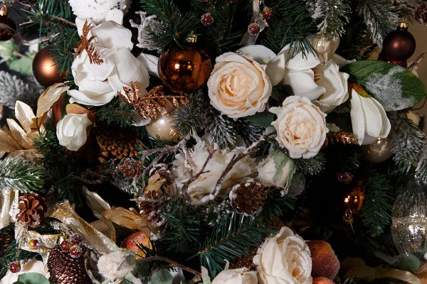 Holiday Stock Photos: Super duper stock images  - Photo of decorated Christmas tree