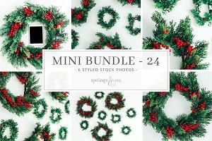 Holiday Mini Stock Photo Bundle
