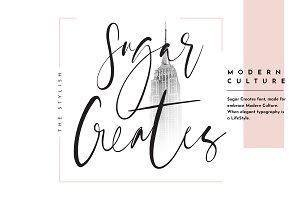 Sugar Creates Font