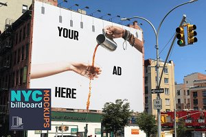 SALE! 33% OFF - NYC Billboard Mockup