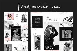 Instagram Puzzle - Pearl